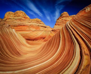 The Wave at North Coyote Buttes in Paria Canyon